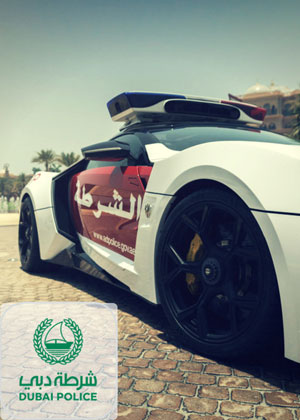 Dubai police contact number