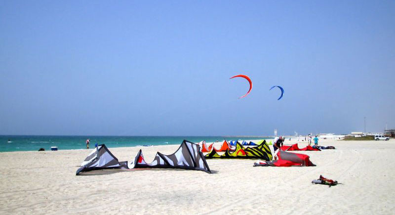 Dubai tourist attractions- Kite Beach